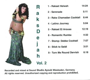 Back Cover of Raks Dejah Vol 2.
